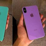 It's time to start picturing new iPhone X colors, just not this green. or this violet