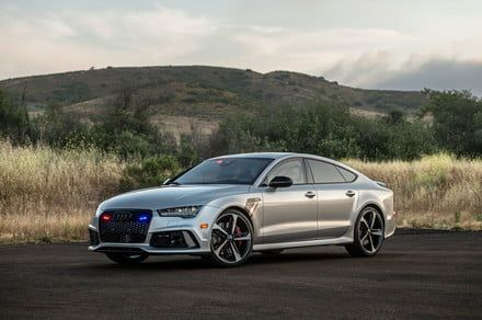 This stylish armored Audi can go 200 mph and stop bullets