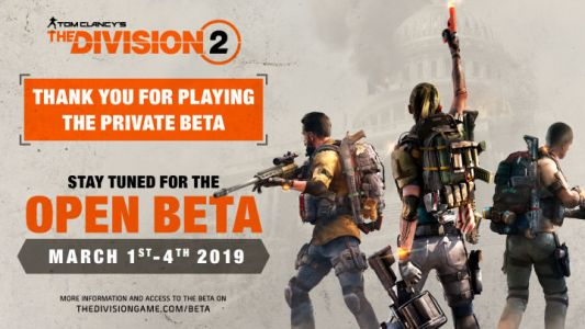 The Division 2 Open Beta Dates Announced