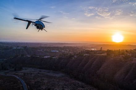 Lidar-equipped drones could help protect California from future wildfires