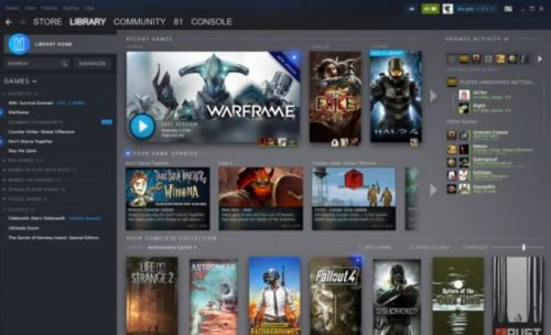 Valve reveals major Steam library redesign and new events page