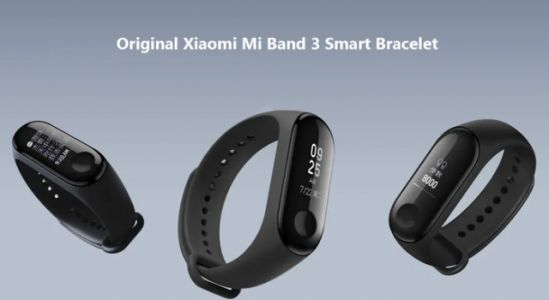 Popular Xiaomi Mi Band 3 available in the flash sale on Gearbest