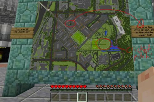 Microsoft has built a version of its headquarters in Minecraft