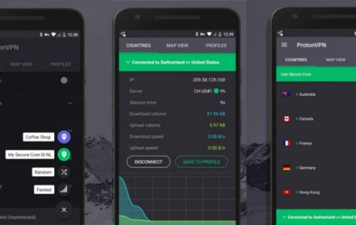 ProtonMail's VPN Android app launches with free, unlimited access