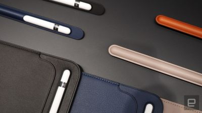 The Apple Pencil case won't save you from losing it