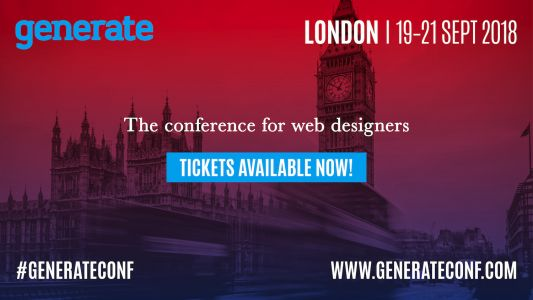 Generate London early-bird tickets now on sale
