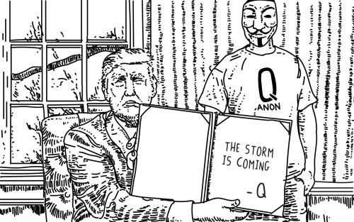 Anonymous deals with its QAnon branding problem