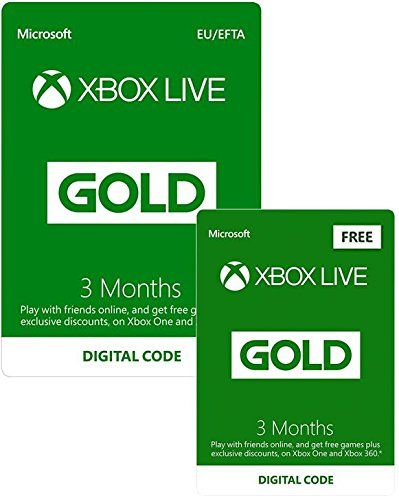 Get Six Months Xbox Live Gold for the Price of Three, PS4 Pro Red Dead Redemption 2 Bundle under £349