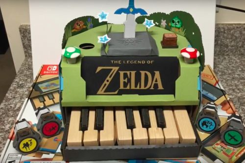 Nintendo Labo contest winners include a Zelda piano and a solar-powered accordion