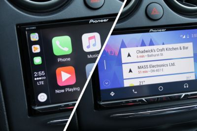 Pioneer's AVH-2330NEX gives you both Android Auto and CarPlay - without a new car price tag