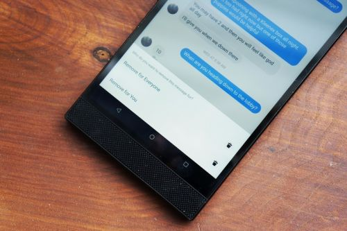 Here's how to delete a sent message in Facebook Messenger