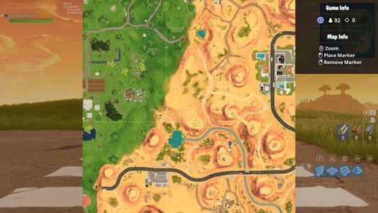 Fortnite Challenge Guide: Where To Search Between An Oasis, Rock Archway, And Dinosaurs