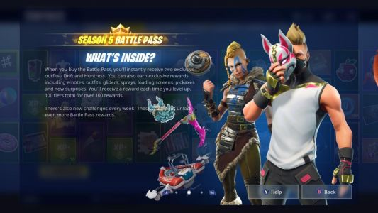 Fortnite Season 5: Lightning Bolts, Risky Reels Treasure Map, And All Challenges