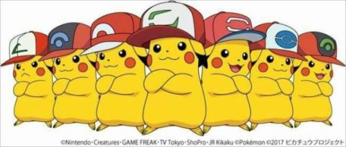 Choose Which Kind Of Hatted Pikachu You Want, But Only Choose Once