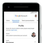 Google Account dashboard is being revamped to make managing privacy settings easier