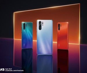 Huawei P30 leaks in marketing material poster, short video