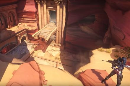 Death lurks around every corner in the new Petra 'Overwatch' map