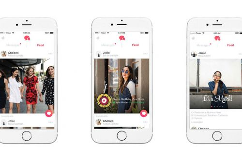 Tinder's new chronological Feed of recent match activity is rolling out to all users