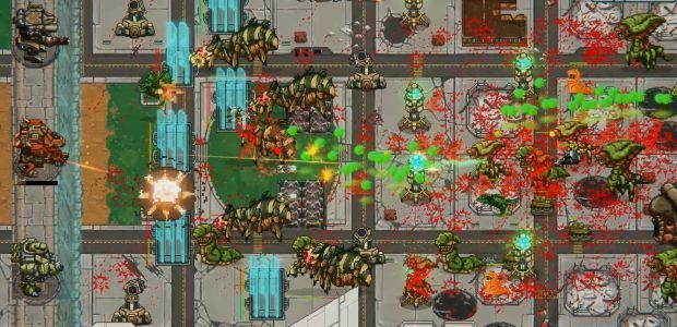 Mechs V Kaijus has an awesome tower defence theme