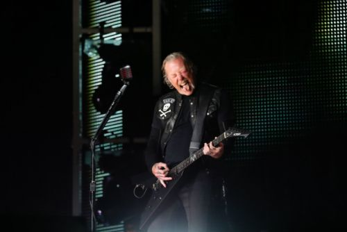Metallica saved a woman from being attacked by a mountain lion