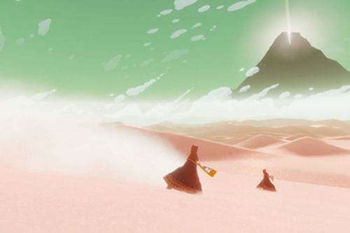 Journey headed to PC via Epic's new Steam store rival