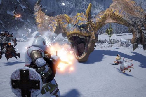 Monster Hunter Rise was made for the Switch, and it's coming to PC, too