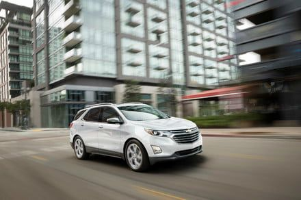 2018 Chevrolet Equinox crossover tweaks styling, adds turbodiesel engine
