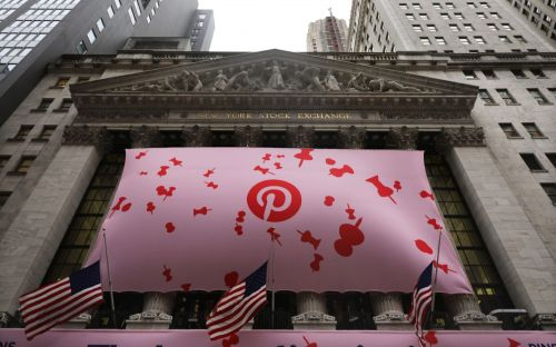 Pinterest shares jump 30pc as investors rush into $12.7bn IPO