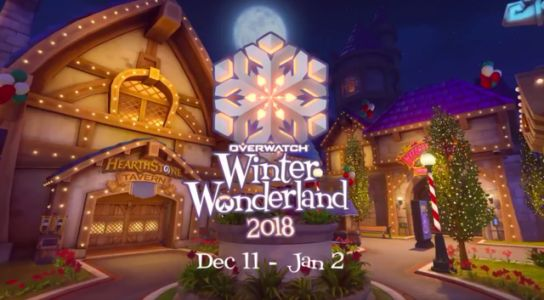 Overwatch's Winter Wonderland 2018 Skins Revealed