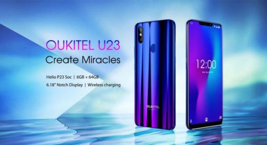 Full specs for the upcoming OUKITEL U23 have been revealed