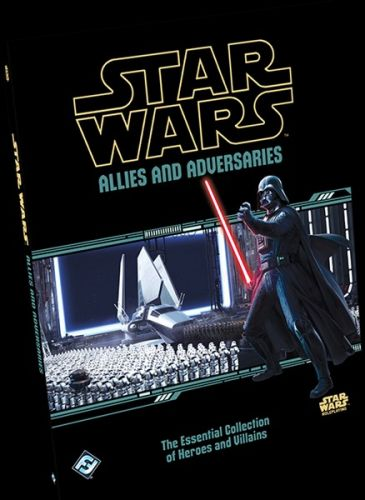 Fantasy Flight Announces Allies and Adversaries Book for Star Wars RPG