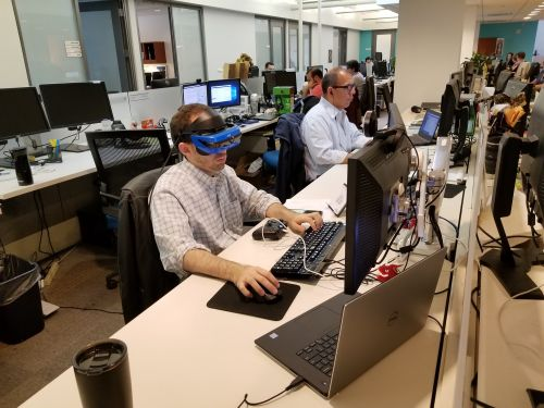 I spent a day working in Windows 10 Mixed Reality