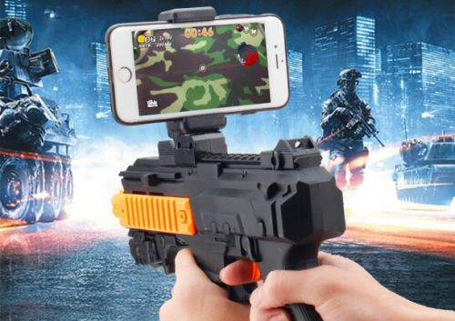 This Bluetooth gun makes shooting games on your smartphone so much better