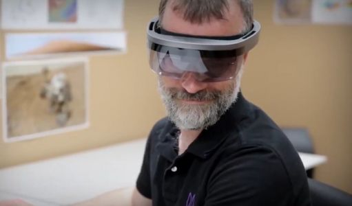 Never-before-seen HoloLens headset makes appearance in NASA video