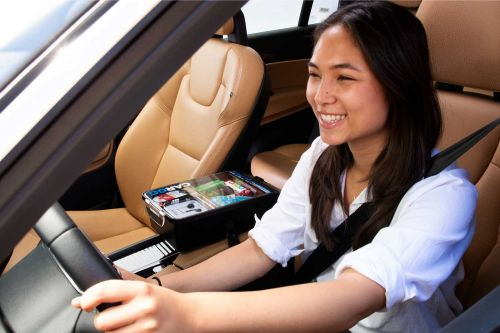 Uber drivers can sell you goods during your ride