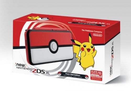 Pokemon-themed 2DS XL launching in time for UltraSun and UltraMoon