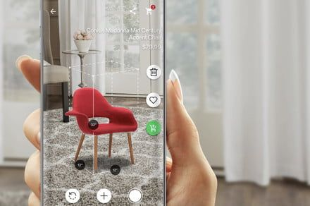 Online shopping at Overstock gets easier with AR functionality in its app