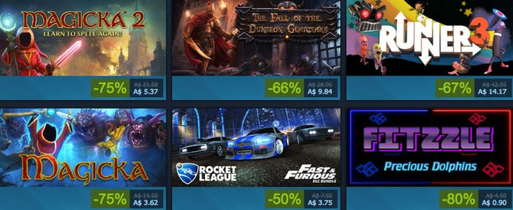 Steam Adds Australian Pricing, But It Doesn't Go So Well