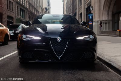 The Alfa Romeo Giulia Quadrifoglio is a 505-horsepower Italian challenge to everything BMW holds dear