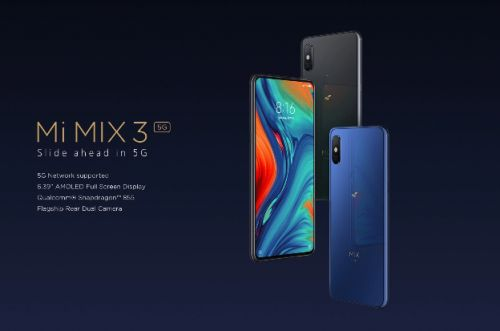 Mi Mix 3 5G to land in Spain and Italy on May 23