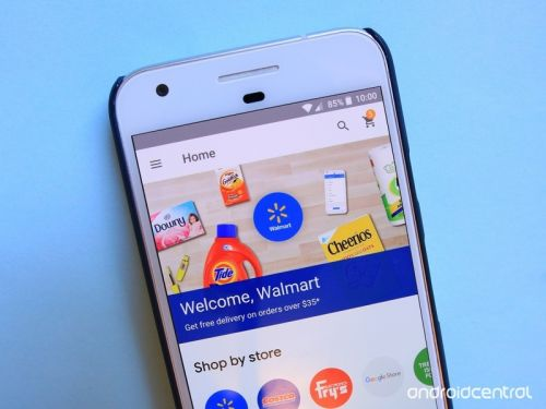 Walmart products are now available through Google Express and Home