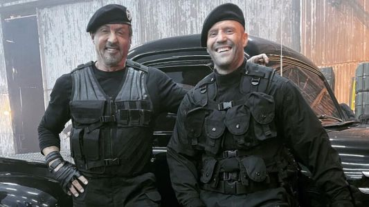 EXPENDABLES 4 Photos Offer First Look at Sylvester Stallone, Jason Statham, and Megan Fox
