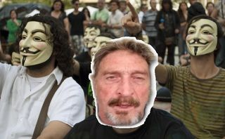 John McAfee is on the run again, will use surrogates in White House campaign