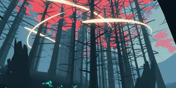 Explore a technicolor forest in Shape of the World demo