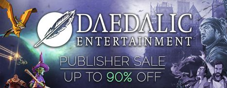 Daedalic Publisher Weekend, Up to 90% Off!!