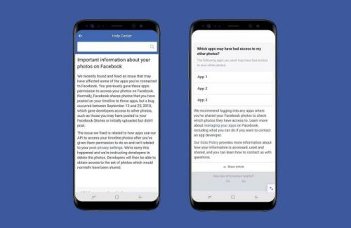 Facebook bug exposed up to 6.8M users' unposted photos to apps