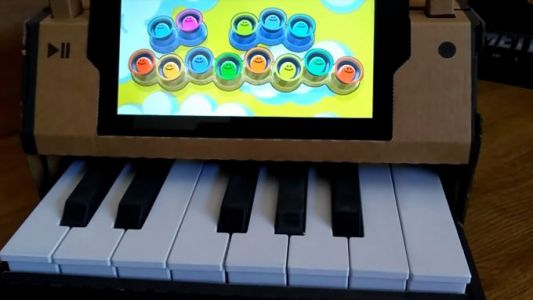 Nintendo Labo's piano turns into a mini grand with this 3D printed mod