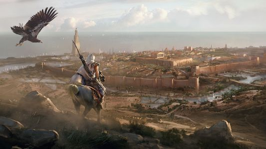 Behind the scenes on the art of Assassins Creed Origins