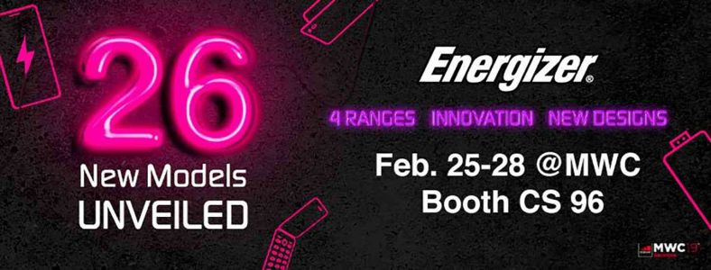 Energizer will announce 26 phones at MWC, including foldable and device with 18,000mAh battery