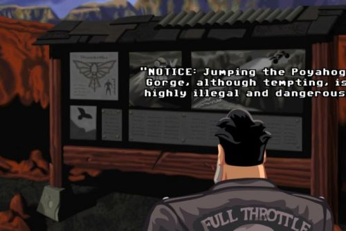 GOG.com's winter sale kicks off with free copies of LucasArts classic Full Throttle